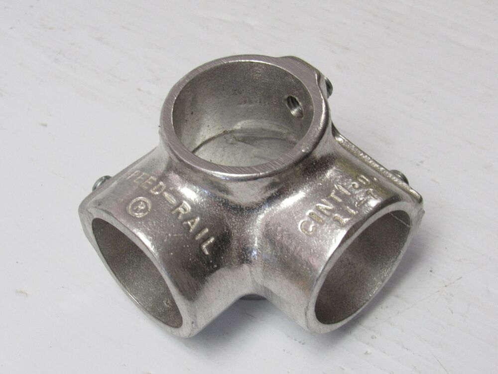 New speed rail aluminum side outlet tee t fitting