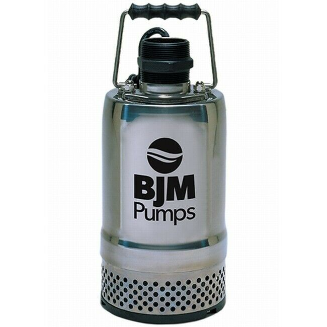 Bjm submersible water pump r250 1 5 inch discharge 50 gpm for Submersible hydraulic pump motor