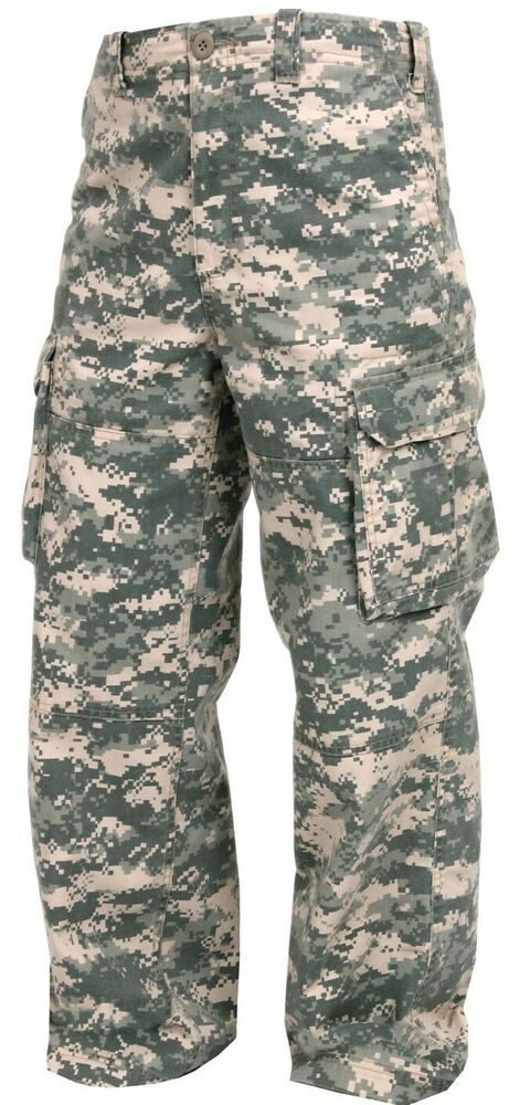 Details about military kids cargo pants acu army digital camo paratrooper  fatigues rothco 2506 830dd7be08