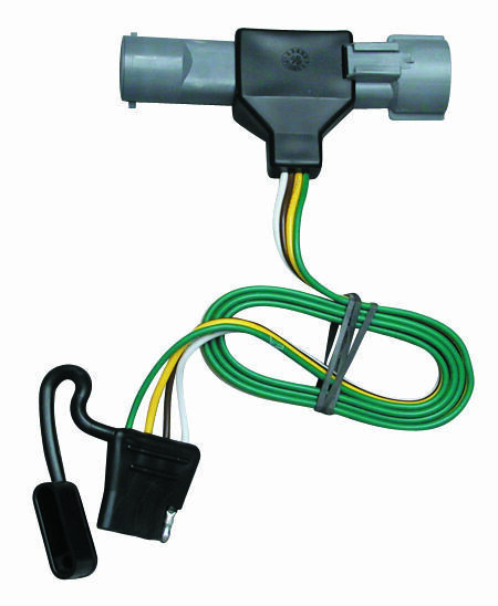 1987-1997 ford f-150 250 350 trailer hitch wiring kit ... ford f 250 trailer plug wiring diagram