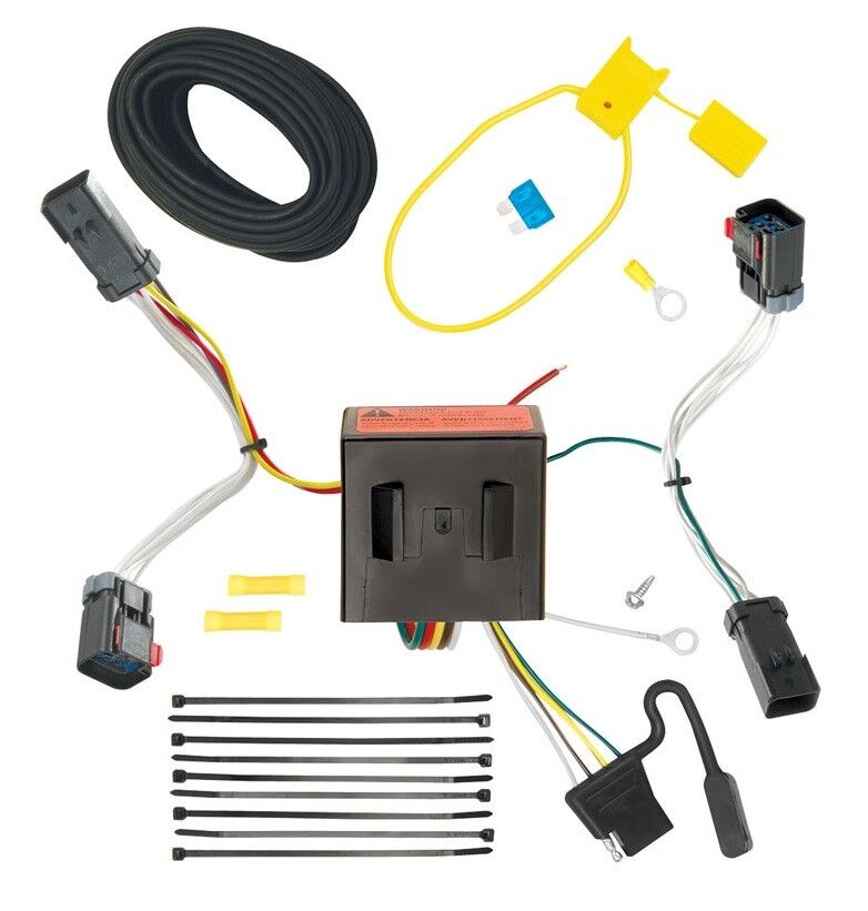 trailer wiring harness kit for 11 17 jeep compass old. Black Bedroom Furniture Sets. Home Design Ideas