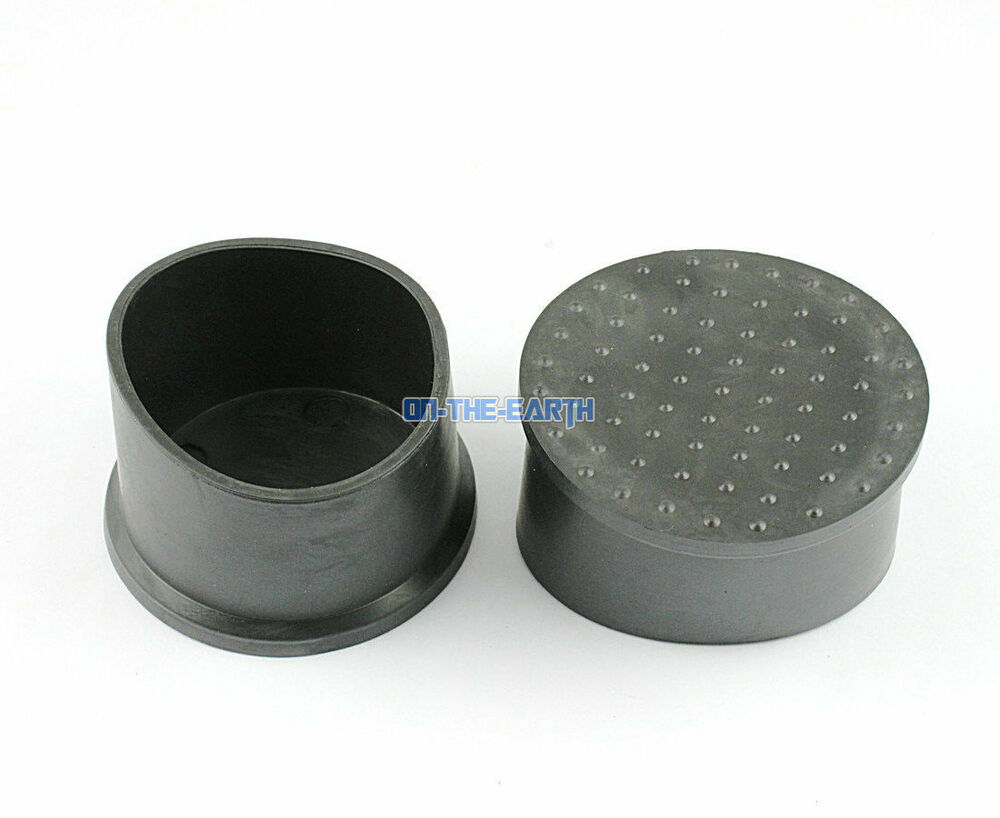 8 Pieces 50mm Round Rubber Furniture Chair Table Leg Cover