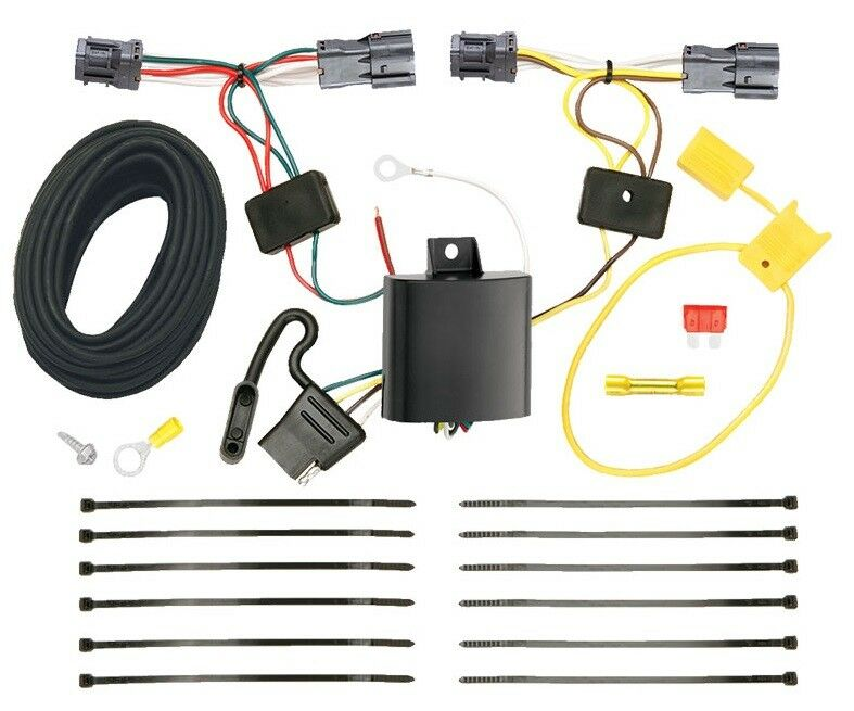 Trailer Hitch Wiring Kit Fits 2010