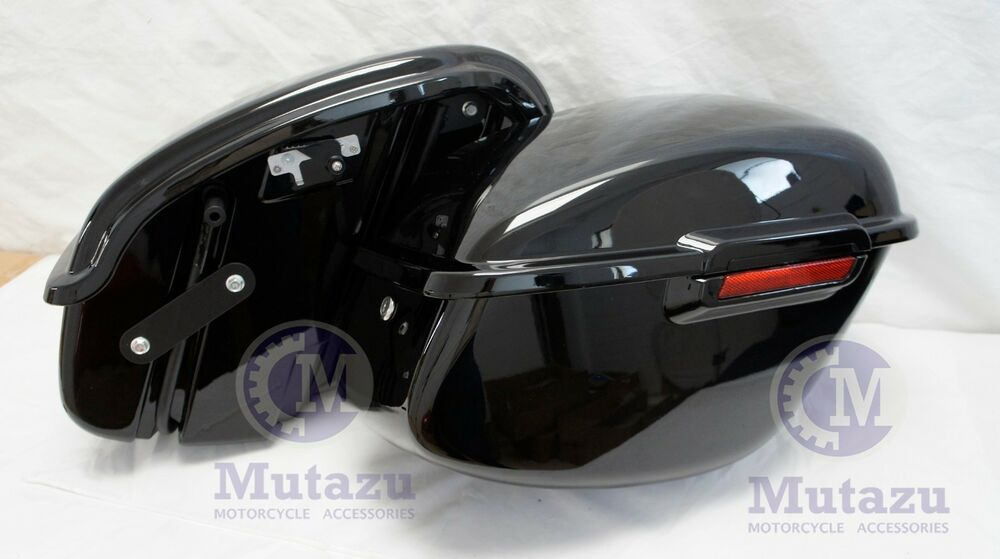 1994 2003 Black Hard Saddlebags Fit Harley Sportster 883