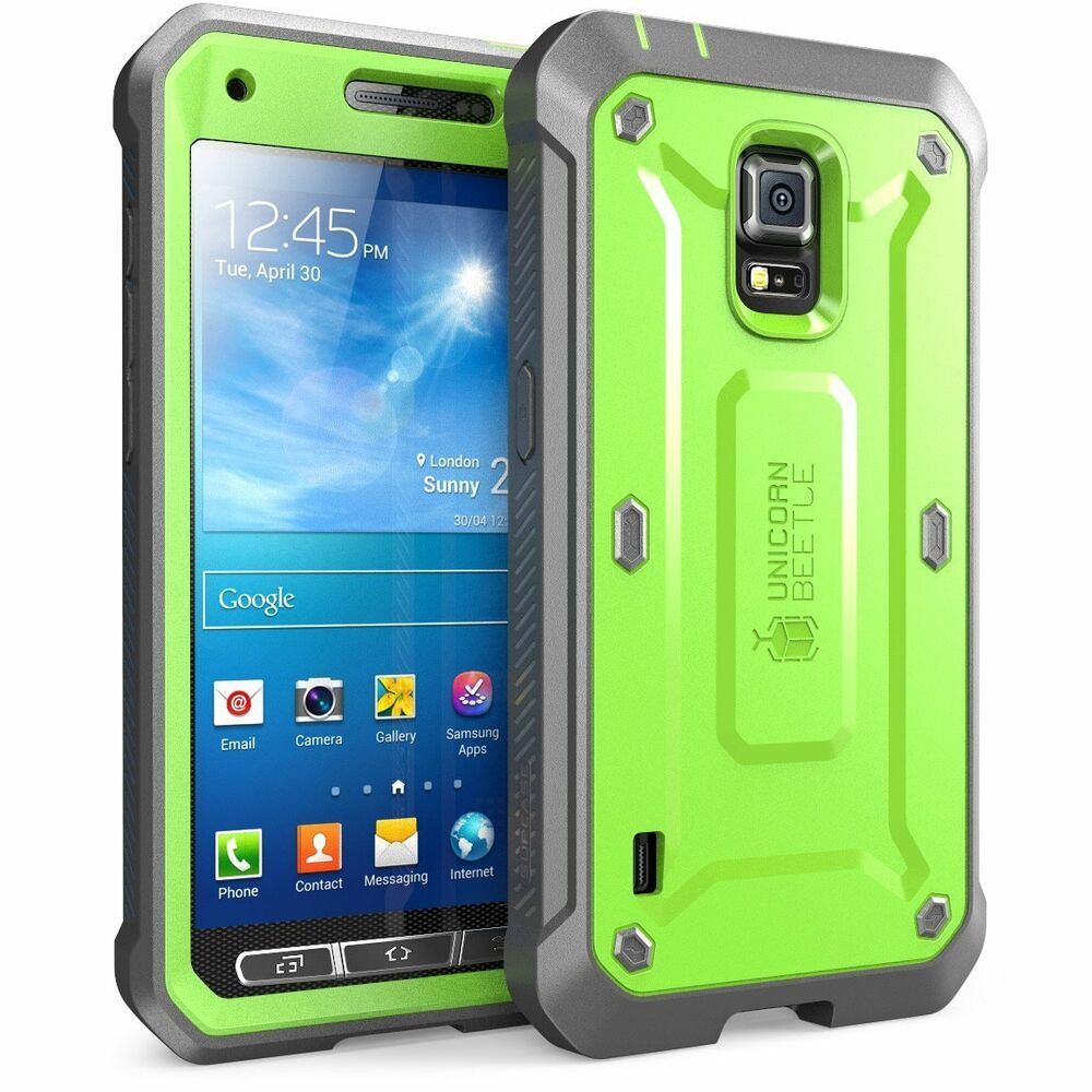 Samsung Galaxy S5 Active Case SUPCASE Unicorn Beetle PRO ...