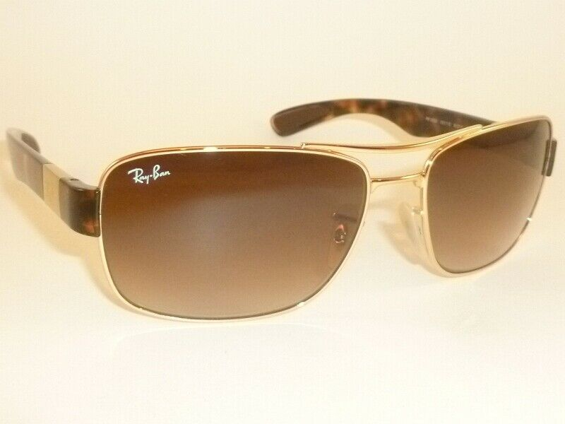 New RAY BAN Sunglasses Gold Frame RB 3522 001/13 Gradient ...
