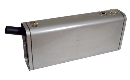 Universal Stainless Steel Fuel Or Gas Tank 14 Gallon