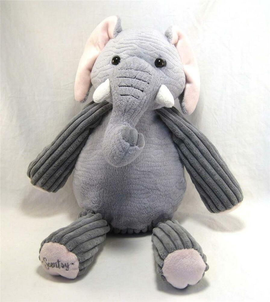 Scentsy Buddy Ollie The Elephant Retired 15 Inches Ebay