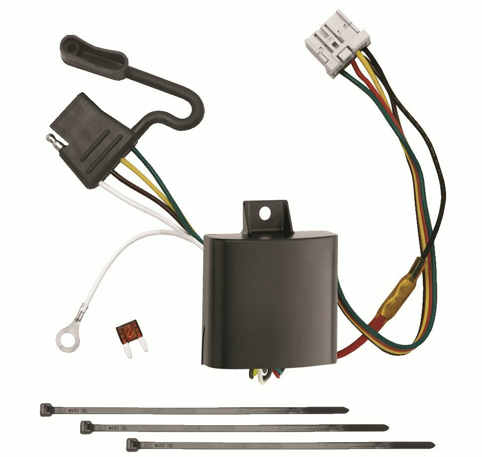 Honda odyssey trailer hitch wiring kit harness