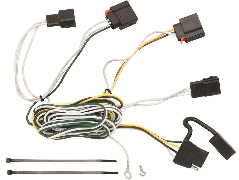 Trailer Wiring Harness Kit For 07