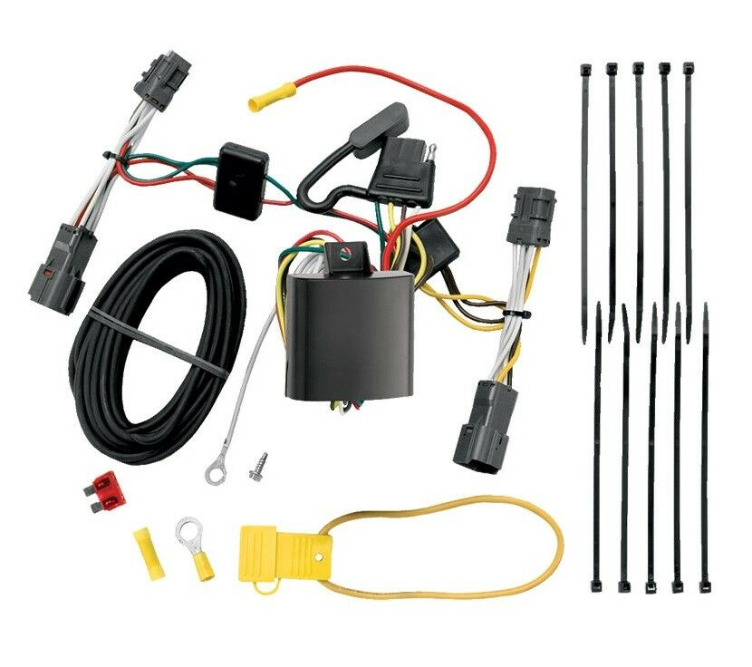 trailer hitch wiring kit fits 2006 2012 kia sedona harness. Black Bedroom Furniture Sets. Home Design Ideas