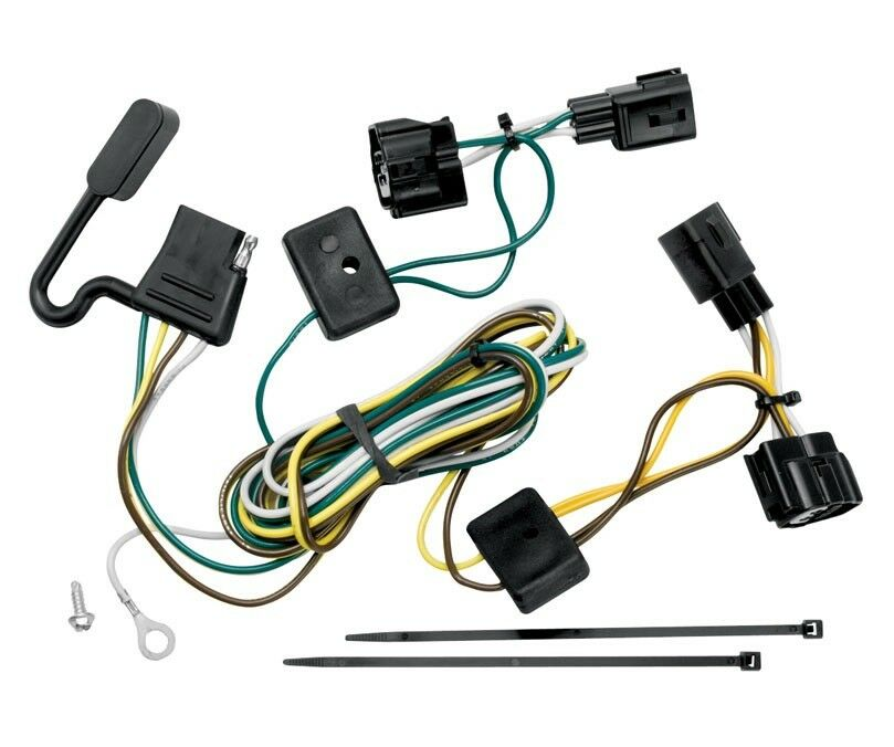 trailer wiring harness kit for 98-06 jeep wrangler all ... jeep cherokee trailer wiring harness #11