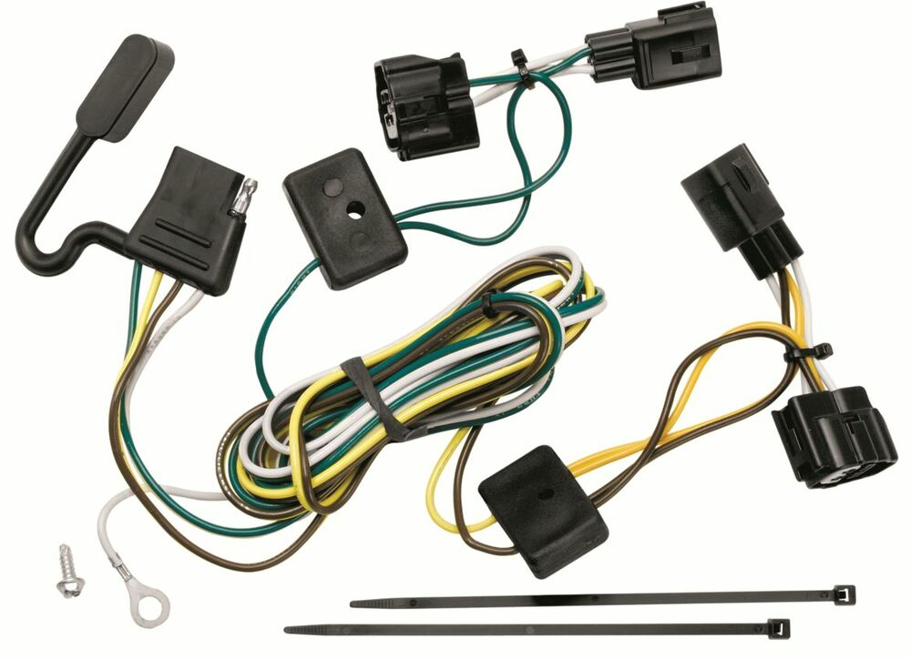 Magnificent Hoppy 11141175 Plug In Simple Trailer Hitch Wiring Kit Ebay Wiring Wiring 101 Cranwise Assnl