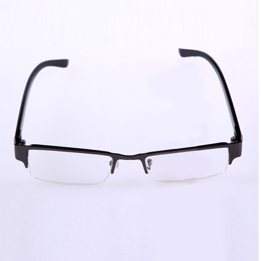 NEWLY 1.0 to 4.0 Lens Reading Glasses Coating Metal Half ...