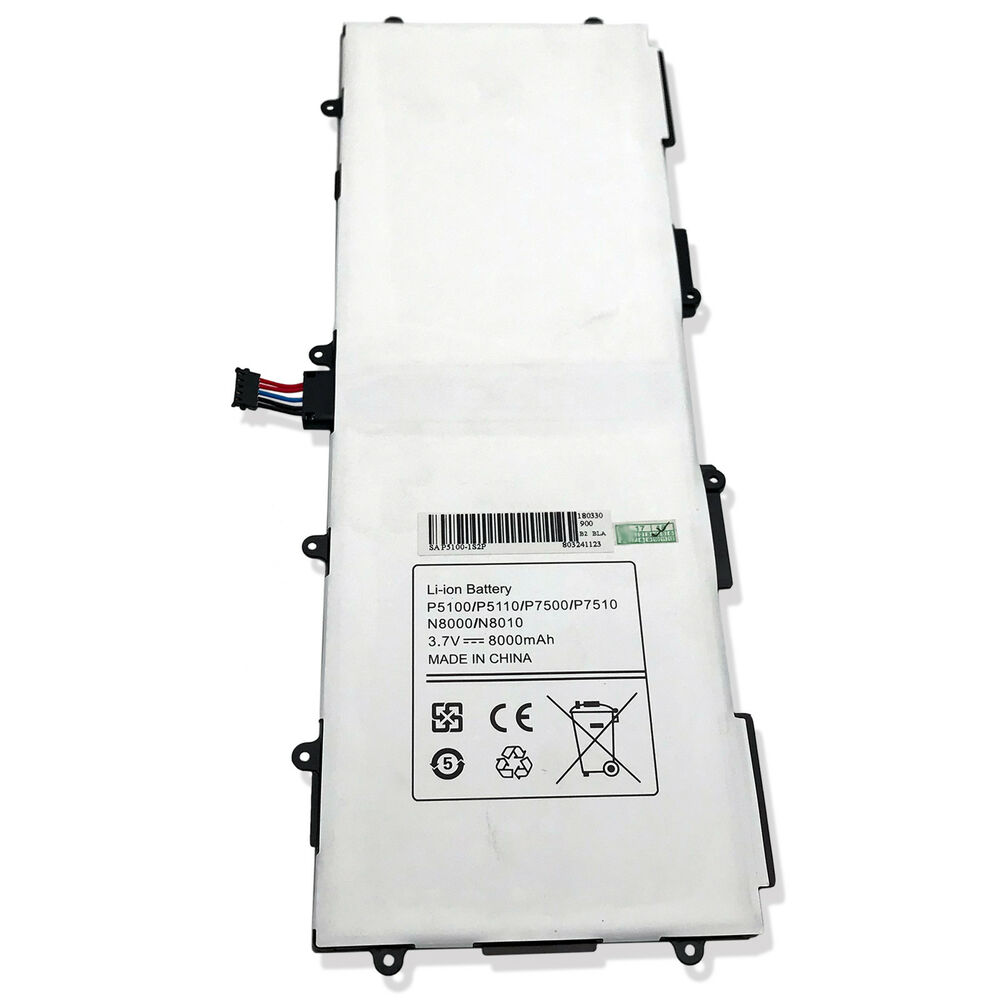 new battery for samsung galaxy tab 2 10 1 model number gt. Black Bedroom Furniture Sets. Home Design Ideas