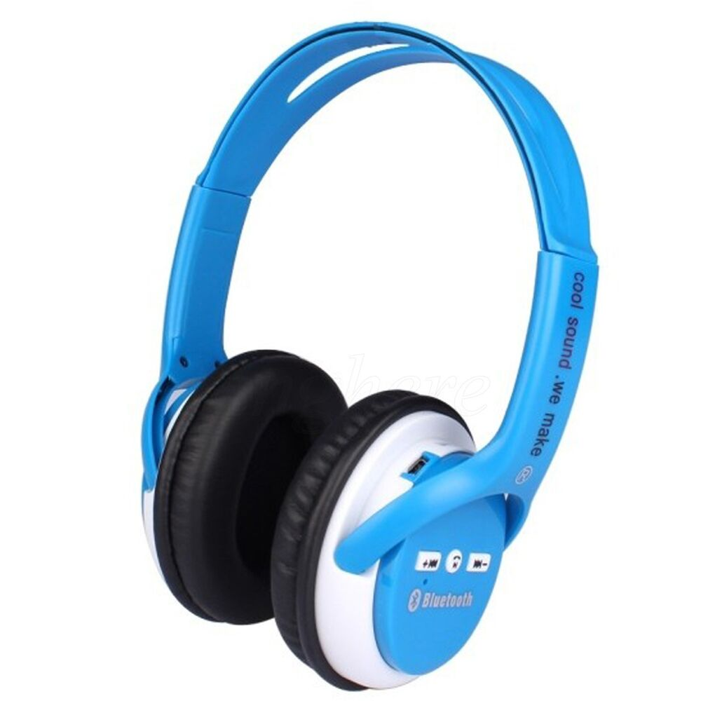 wireless bluetooth stereo headset headphone for iphone samsung lg htc cell phone ebay. Black Bedroom Furniture Sets. Home Design Ideas