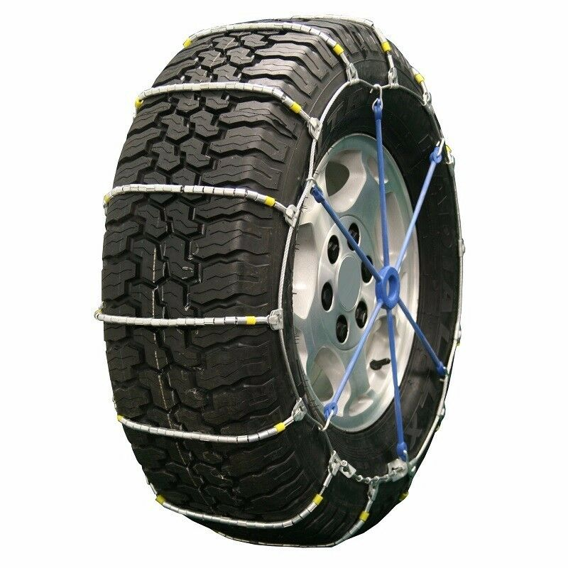 quality chain cobra cable pair snow tire chains fits 235 85r16 ebay. Black Bedroom Furniture Sets. Home Design Ideas