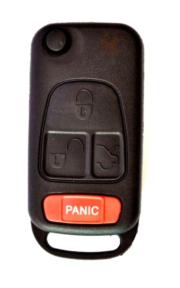 New flip key fob shell remote case fits mercedes benz slk for Mercedes benz remote key