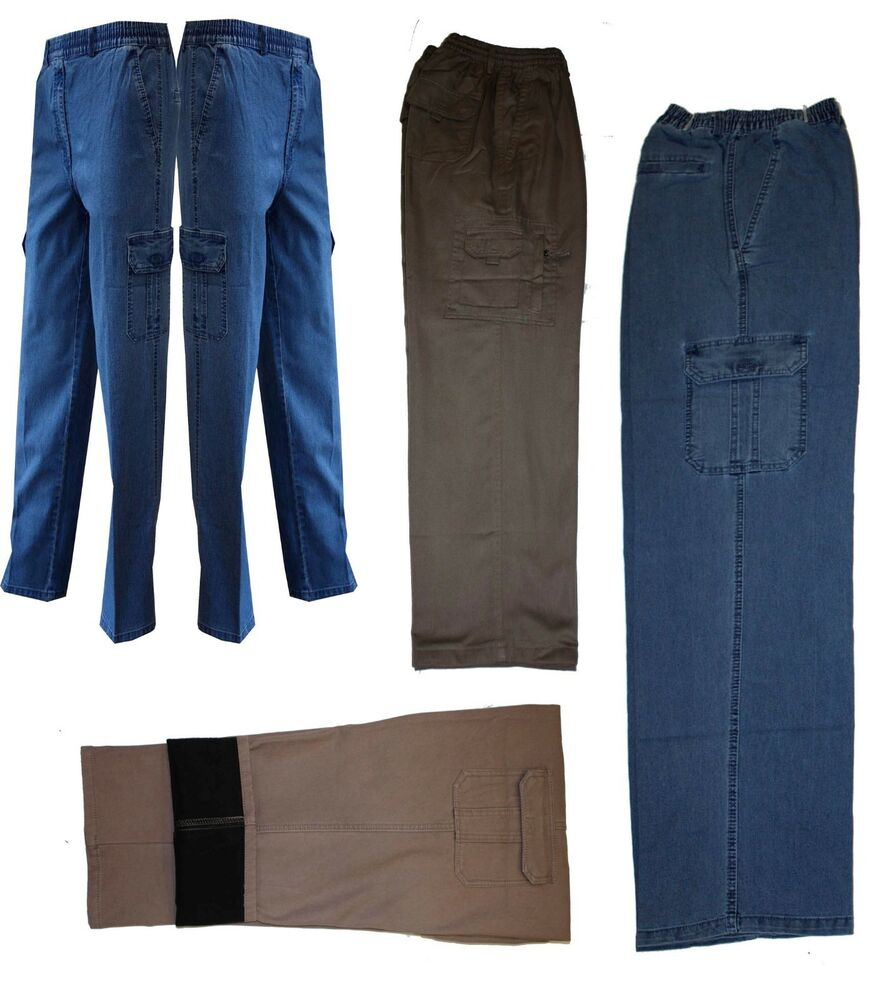 herren thermohose thermojeans schlupfhose cargohose arbeitshose jeans gr m 3xl ebay. Black Bedroom Furniture Sets. Home Design Ideas