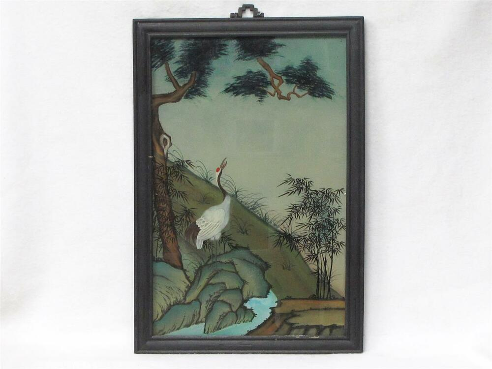 Reverse Chinese Painting On Glass