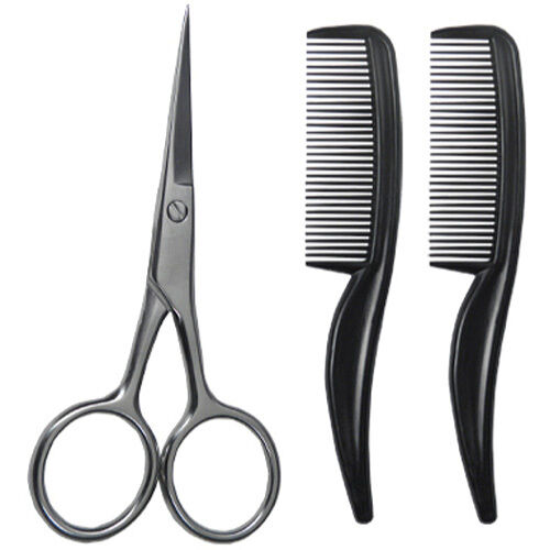 scalpmaster sc 9026 facial hair grooming kit 4 scissor 2. Black Bedroom Furniture Sets. Home Design Ideas