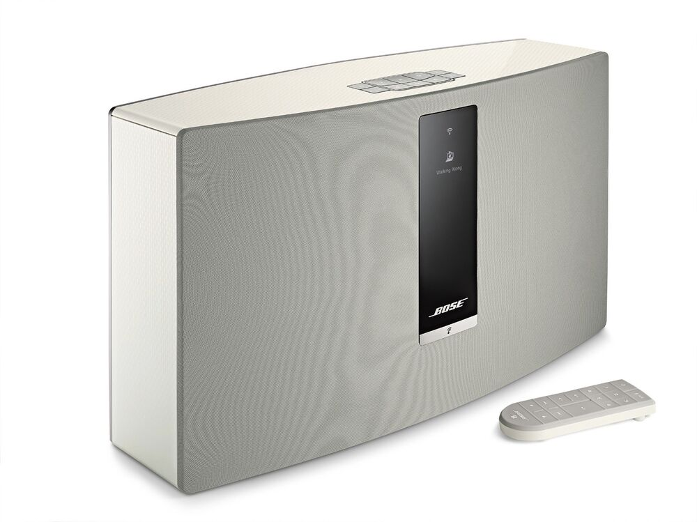 new bose soundtouch 30 wi fi wireless music system series iii white sound touch ebay. Black Bedroom Furniture Sets. Home Design Ideas