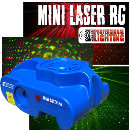 Mini Laser Light Show Red And Green Lasers Sound