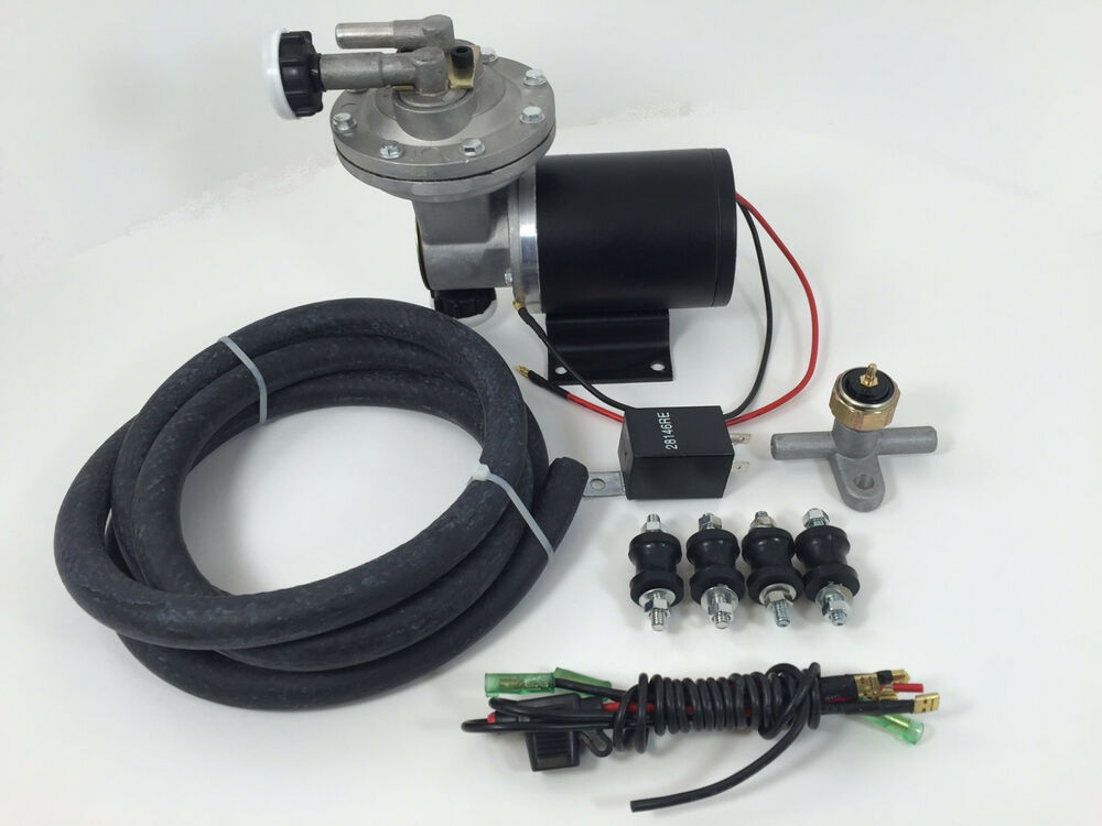 Brake Vacuum Pump : Electric vacuum pump brake booster hot rod gm chevy ford