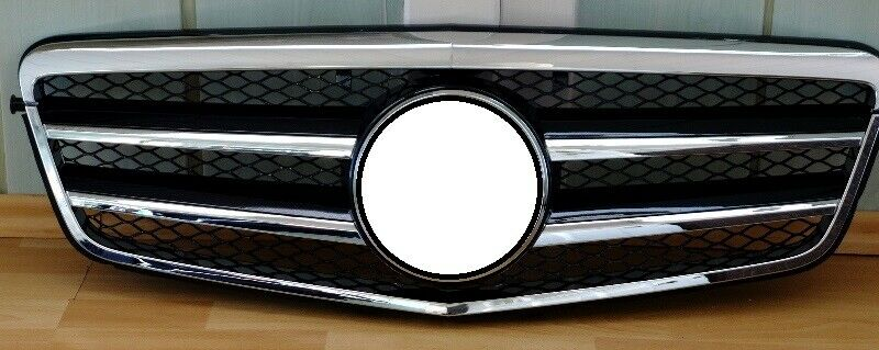 k hlergrill frontgrill grill mit stern amg look f r. Black Bedroom Furniture Sets. Home Design Ideas