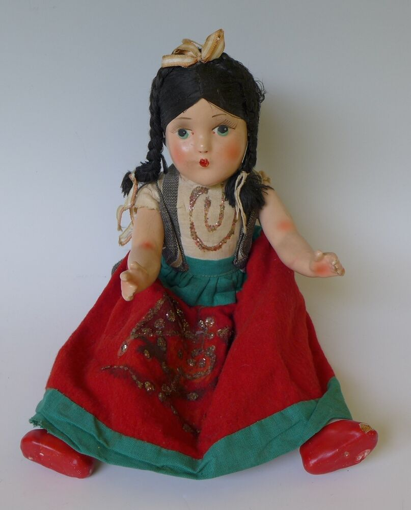 Agree vintage mexican doll any case