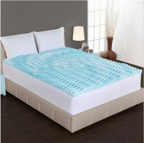 Foam Mattress Topper Queen Size Bed Bedding Memory Cool