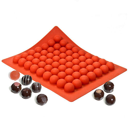Truffly Made Silicone Truffle Mold Medium Round 63