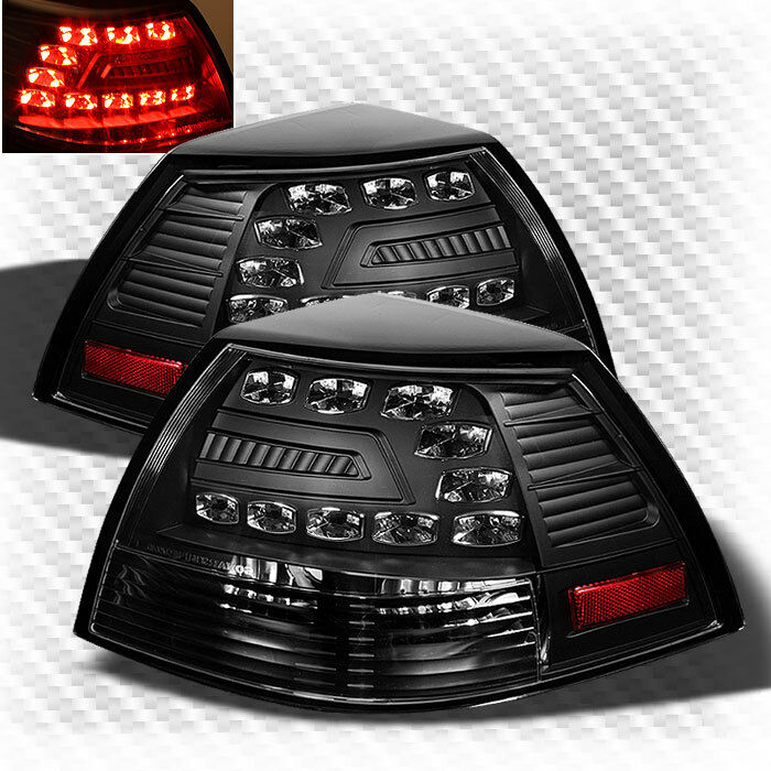 For 2008 2009 Pontiac G8 Led Blk Tail Lights Rear Brake