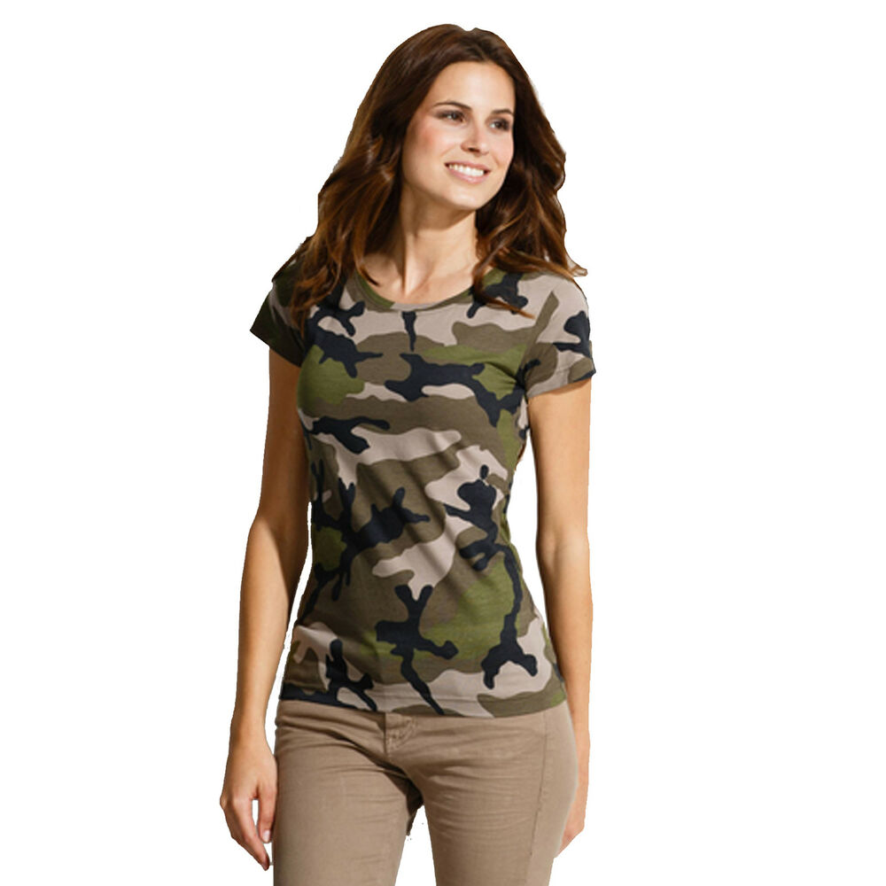 Shop eBay for great deals on Camouflage T-Shirts for Women. You'll find new or used products in Camouflage T-Shirts for Women on eBay. Free shipping on selected items.