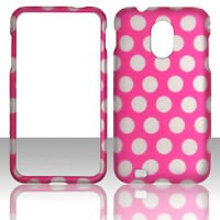 White Dots Pk Samsung Epic 4G Touch (Galaxy S II 2) D710 Case Cover Hard Case