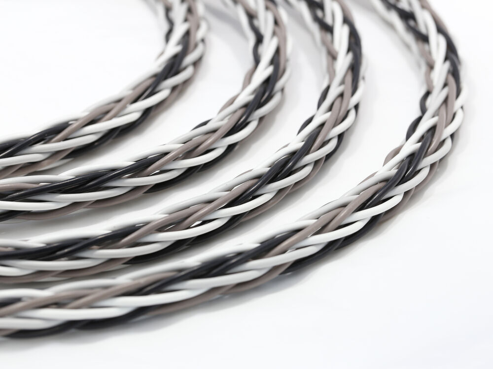Braided Copper Wire : Knukonceptz krux cable interlaced braid d copper gauge