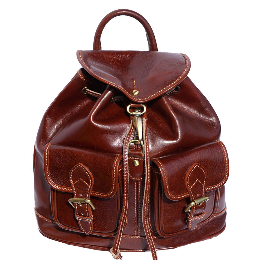 Backpack Purses Bag Italian Genuine Leather Hand made in ...