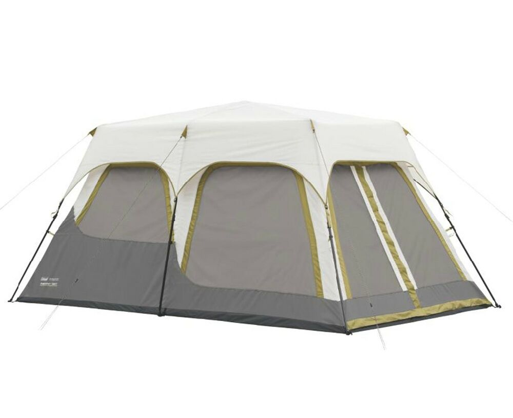 Coleman Signature 8 Person 2 Room Instant Camping Tent