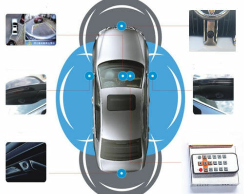 Universal 360 Degree Bird View Surround With System Car