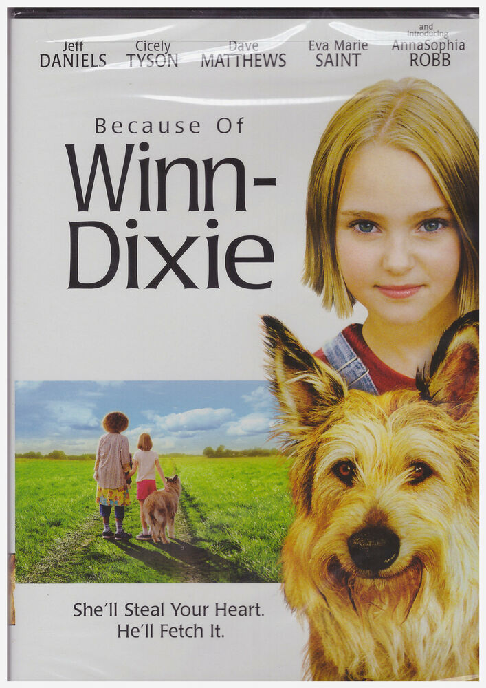 because of winn dixie A) she was born there b) her dad was a missionary there before she was born c) her mother was born there d) her mom liked the name.