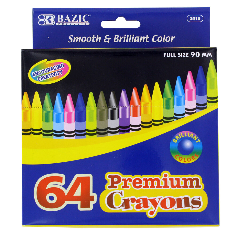 Assorted Colors Washable Prang be-be Jumbo Crayons 73010 Dixon Ticonderoga Includes Sharpener 10 Count