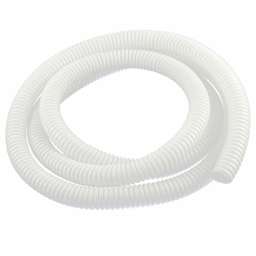 Plastic air conditioner drain pipe water hose 2 meters for White plastic water pipe