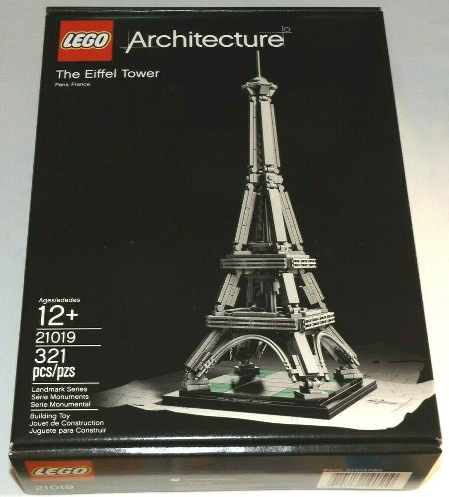 Lego architecture the eiffel tower 21019 paris france for Find architecture