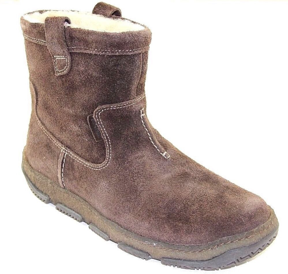 clarks s drift brown suede waterproof boots style