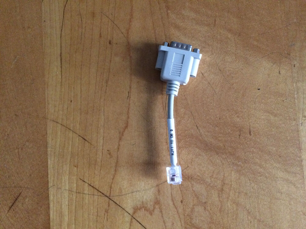 rj11 to db9 adapter cable male to male new ebay. Black Bedroom Furniture Sets. Home Design Ideas