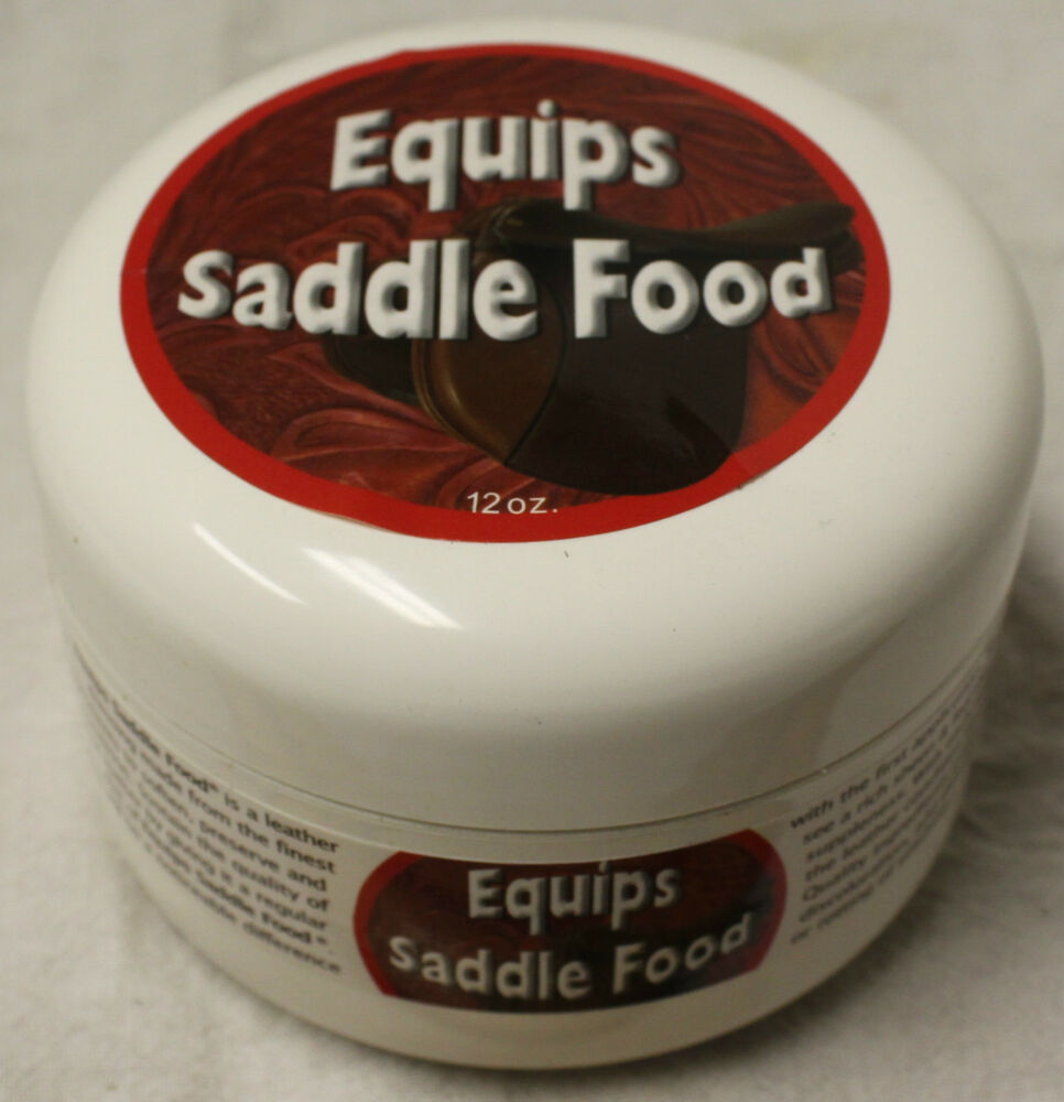 Equips Saddle Food Leather Conditioner for Tack Upholstery ...