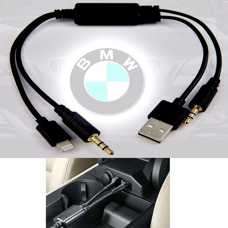 Bmw Y Cable: IPhone5 5s 6 Audio Stereo USB AUX Adapter Interface Cable