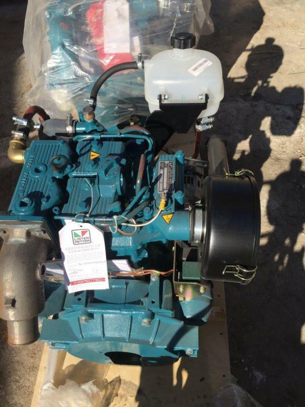 Lister petter lpws2 direct injection marine engine ebay for Outboard motors for sale houston