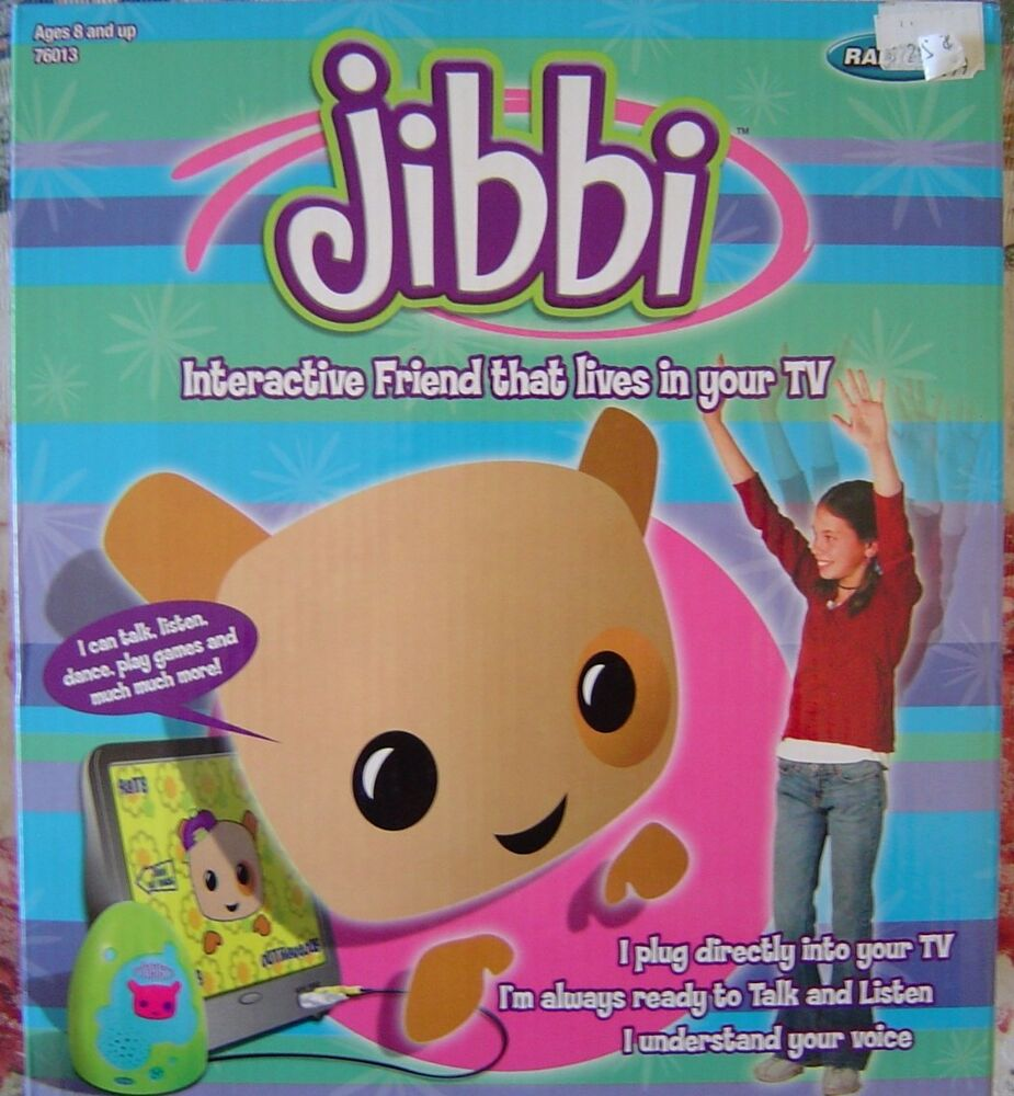 Tv Games Plug And Play : Radica jibbi interactive friend plug and play tv game ebay