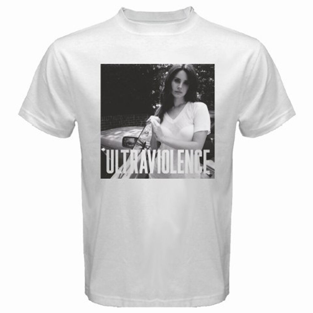 cf4e031ca4c45b Details about New Lana Del Rey Ultraviolence Rock Music Band Men s White T- Shirt Size S to 3XL